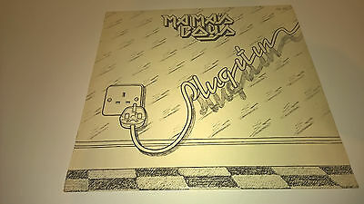 MAMAS BOYS - Plug It In - IRISH 1st PRESSING LP IRELAND HEAVY METAL