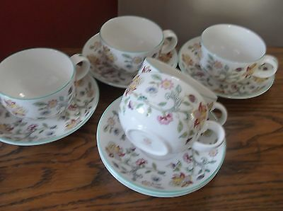 Coffee Set By Haddon Hall From Minton.