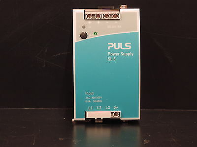 PULS Dimension SL 5 DIN Rail Power Supply 24-28Vdc 5A 120W output, 3-Phase input