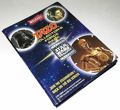 Tazo Star Wars Collector's Force Pack. Complete with Yoda Force Card