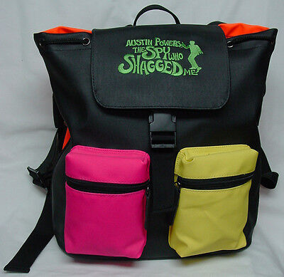 AUSTIN POWERS: THE SPY WHO SHAGGED ME - Promotional Backpack Full of Goodies!
