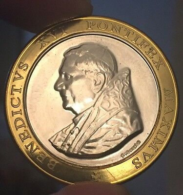 Pope Benedict XVI Vatican Coin/ Medal Bought From The Vatican Gift Shop