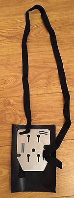 Adjustable Setright Bus Ticket Machine Carrying Plate, Strap And Backing Rubber
