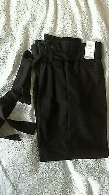 Ladies black maternity trousers by Blooming Marvellous - UK 10 - BNWT