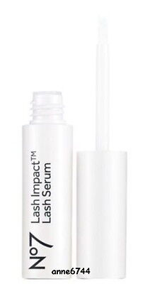 No7 LASH IMPACT Lash Serum -   Fuller, thicker and darker lashes in just 8 weeks
