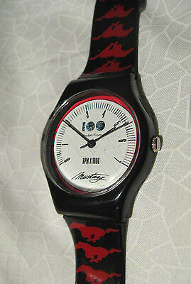 Ford 100 years Mustang watch official promotional item new in presentation case