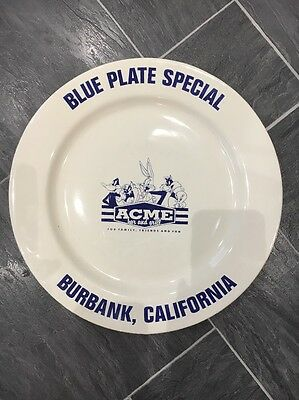 Warner Bros Studio Acme Bar And Grill Blue Plate Special
