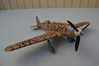 Well Built 1/48 Scale WW2 Italian Macchi Model Plane Built and Painted