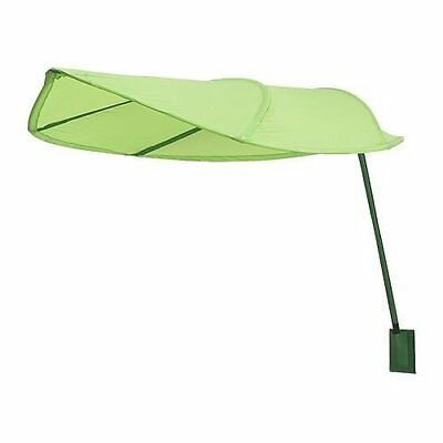 IKEA Lova green leaf bed canopy children