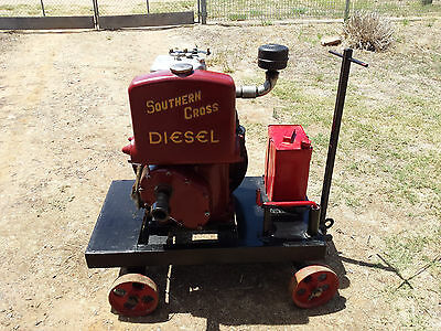 Southern Cross Diesel Stationary engine