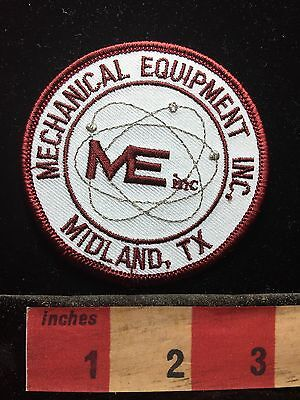 Midland Texas ME INC. Advertising Patch Mechanical Equipment Inc.  71F2