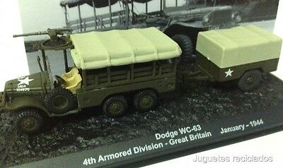 1/72 DODGE WC-63 4th ARMORED DIVISION GREAT BRITAIN JANUARY 1944  TANK ALTAYA