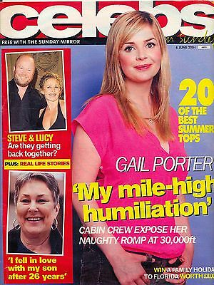 Celeb Mag 2004 Gail Porter Natalie Cassidy Jude Law Lucy Benjamin Ross Kemp