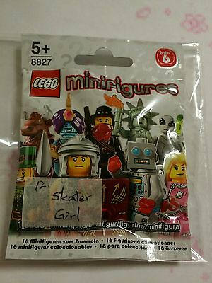 Lego Minifigures Series 6 : Skater Girl - Condition New