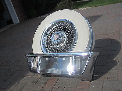 """Continental Kit """" Luxury """" Cadillac -- Chrome And Leather"""