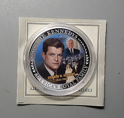"Edward M. ""Ted"" Kennedy Color Token"