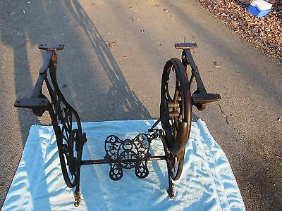 Antique Willcox and Gibbs treadle sewing machine base