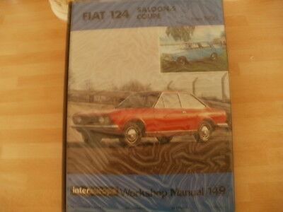 FIAT 124 saloon and coupe  WORKSHOP MANUAL