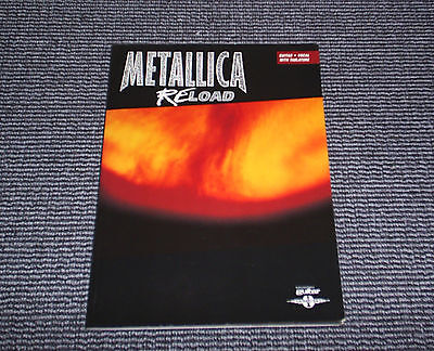 Metallica. Reload. Guitar - Vocal - With Tablature. Authorized Edition.