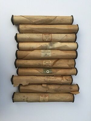 Piano Rolls Lot of 10 Waltz Fox Trot March Two Step Melodie 88 Note Player Piano