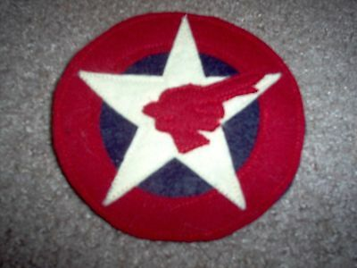 WWI US Army Camp 2nd Division Engineers Patch AEF