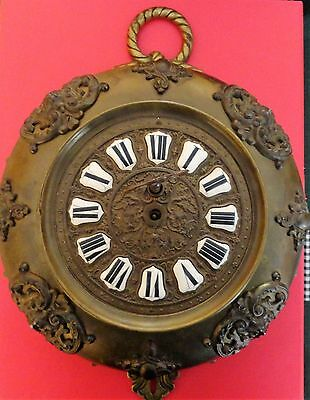 Antique Farcot Wall Clock With Key