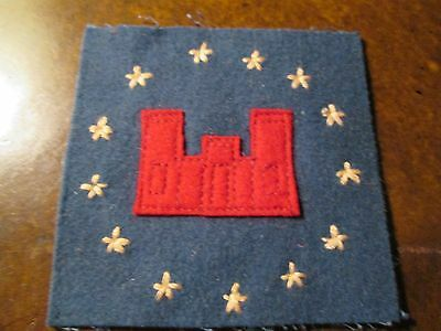 WWI US Army 13th Engineers patch AEF