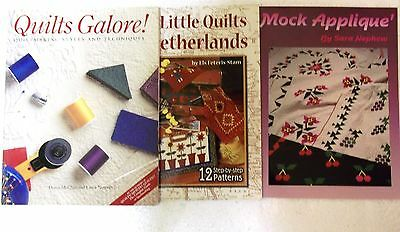 Wholesale Quilting Book LOT (3 Paperback Lot)