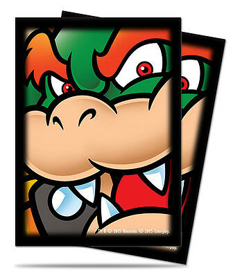 Ultra Pro Deck Protector  - Standard Size Card Sleeves - 65 Count - Mario Bros.