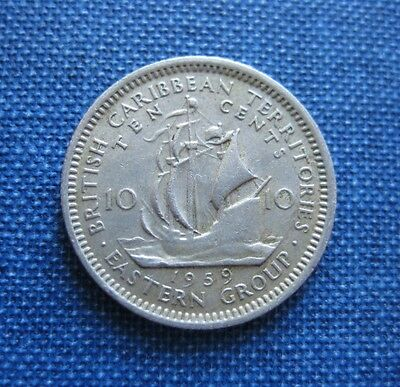 British East Caribbean States Territories 10 Cents, 1959
