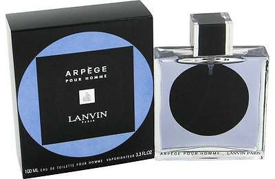 Arpege Pour Homme Lanvin 100ml 3.3oz EDT Spray for Men Sealed Box Rare Perfume