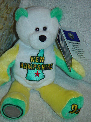 New Hampshire LIMITED TREASURES COIN BEARS 50 STATES OF AMERICA