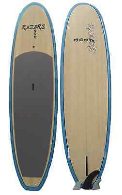NEW RAZERS EDGE 10'6 SUP Board Stand Up Paddle with Fins & Grip