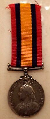 Original Queen South Africa Medal - to 3978 Pte C. W. Tungate Norfolk Regiment