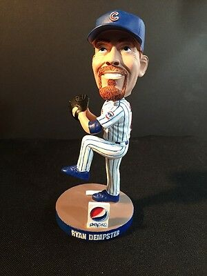 Chicago Cubs Ryan Dempster Bobble Head MLB Game Day Promo 2012 Pepsi Cola