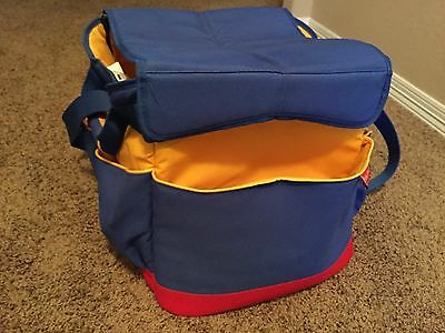 Fisher Price TRAVEL TOY TOTE Storage Case Bag