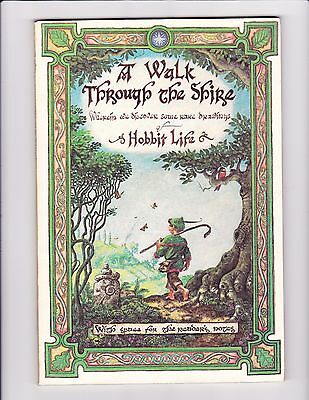 A Walk Through The Shire - 100 Pg. Blank Journal - Like New - LOTR Hobbits Diary