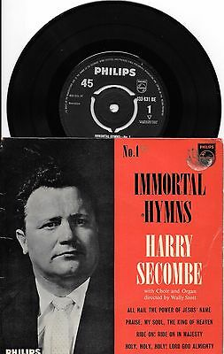 HARRY SECOMBE - Immortal Hymns No 1 - 433 631 BE - 4 track EP - EX