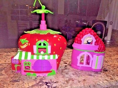 2008 strawberry shortcake the berry cafe play set lot