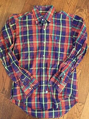 Vintage 80's Ralph Lauren/ Polo USA Preppy Button Down - Youth 16