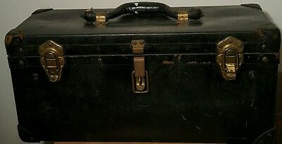 Vintage Telephone Parts Box Bell System Box Leather