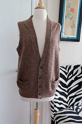 Vintage Jantzen Sport Wool Sweater Vest Medium from the 1950s