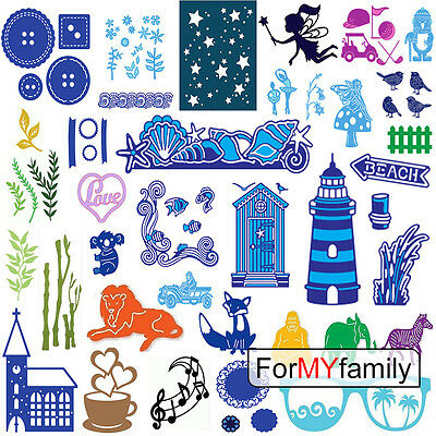 Cutting Dies Stencil DIY Scrapbooking Album Card Paper Embossing Decor Craft