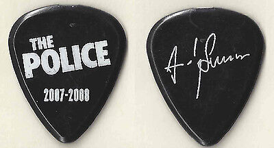 The Police 2007-2008 Andy Summers Guitar Pick