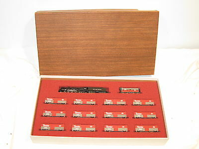 Con-Cor N Gauge #8404 Nyc Pacemaker Freight Service Limited Edition Set, Ob