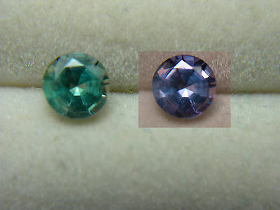 Alexandrite VERY RARE Color Change NATURAL Brazil gem Green to Purple 0.45ct D70