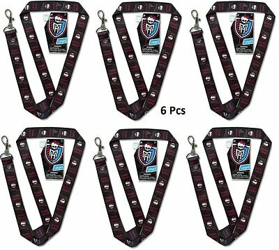 "Monster High Freaky Fabulous/ Freaky Friday 15"" Lanyard-New with Tags!-6 Packs"