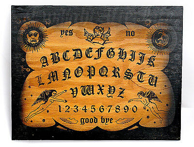 WITCHBOARD Devil  Satanic Ouija Board Occult Evil Spirit  Haunted House ghost