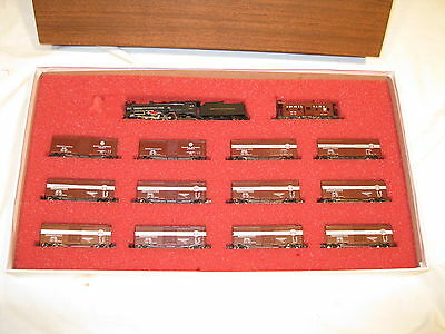 Con-Cor N Gauge #8505 Prr Merchandise Service Collector Edition Set, Ob