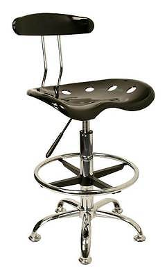 Drafting Stool with Chrome Foot Ring and Base [ID 3064597]